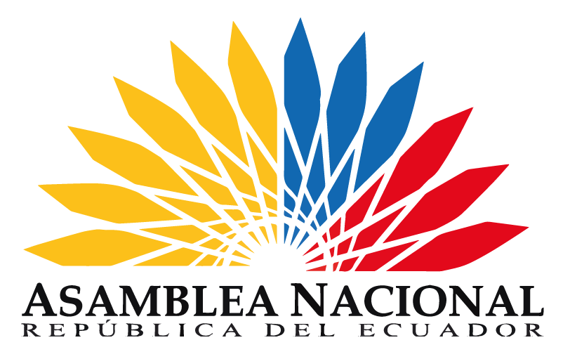 Logo of the National Assembly of Ecuador. It will direct you to the website of the National Assembly of Ecuador.